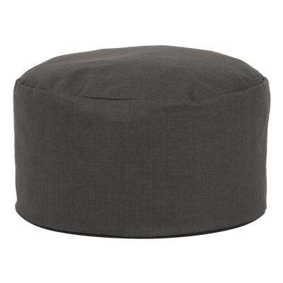 Foot Pouf Sterling Charcoal Grey Ottoman