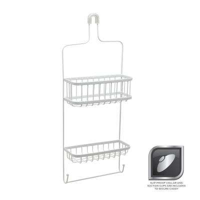 Over-the-Showerhead Caddy in White