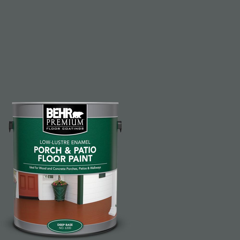 Behr Premium 1 Gal N500 6 Graphic Charcoal Low Lustre