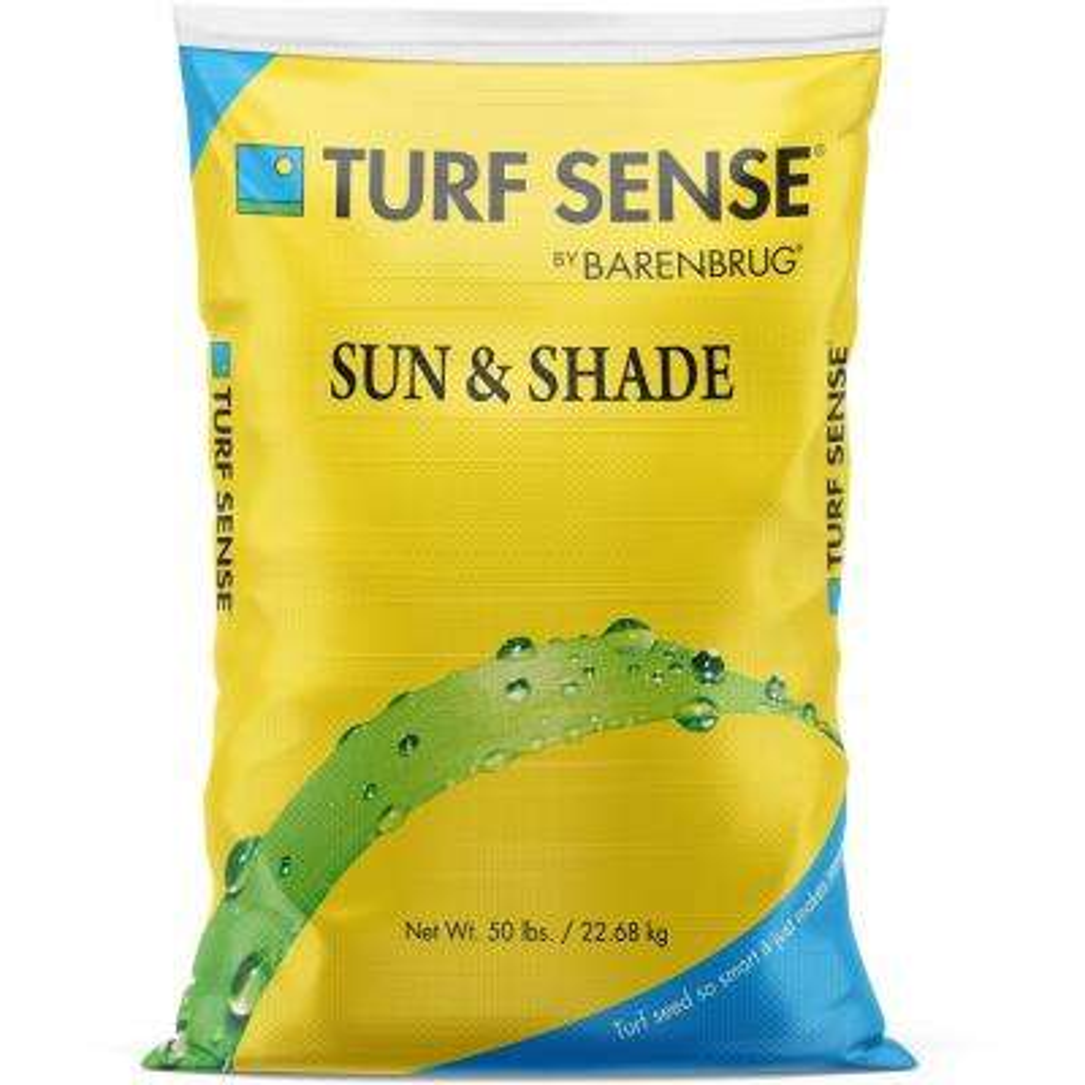 50 lbs. 16,600 sq. ft. Turf Sense Sun and Shade Mix Grass Seed