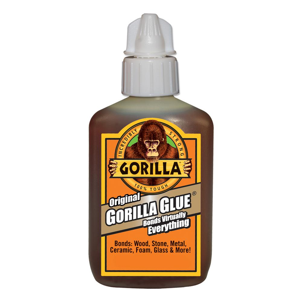 Gorilla Glue 2 Oz Original Glue With Bonus Super Glue Gel