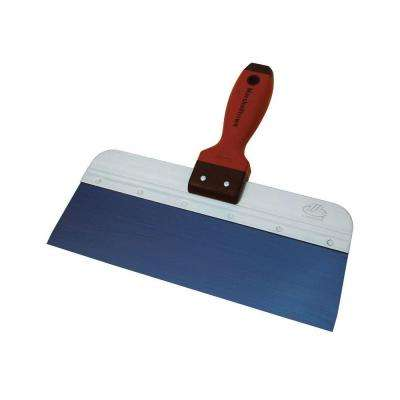 10 in. x 3 in. Blue Steel Tape Knife with DuraSoft Handle