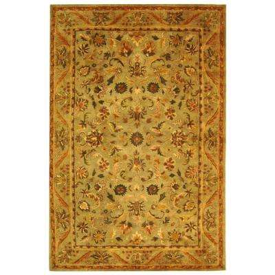 Antiquity Olive/Gold 6 ft. x 9 ft. Area Rug