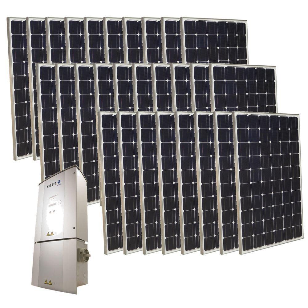 Grape Solar 7,000-Watt Monocrystalline PV Grid-Tied Solar Power Kit-DISCONTINUED