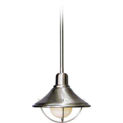 1-Light Brushed Nickel Interior Pendant