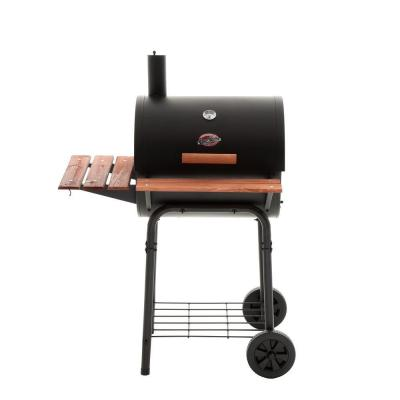 23 in. Barrel Charcoal Grill in Black