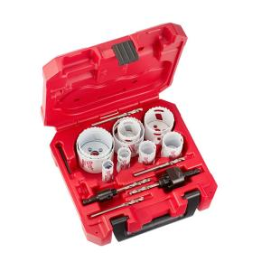 Milwaukee 17-Piece Hole Dozer General Purpose Bi-Metal Hole Saw Set