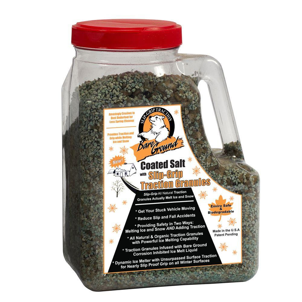 12 lb. Shaker Jug of Coated Salt with SlipGrip Traction Granules