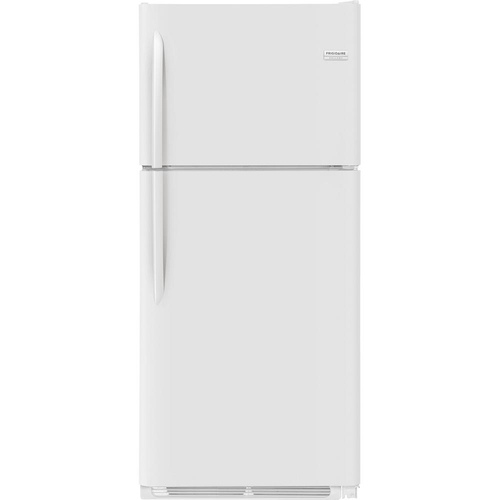 20.4 cu. ft. Top Freezer in White