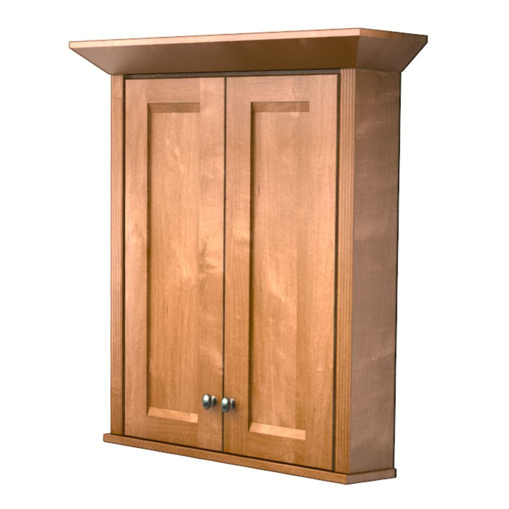 D Bathroom Storage Wall Cabinet With Decorative Accents In Dove  White VW270430.S3.7131SN   The Home Depot