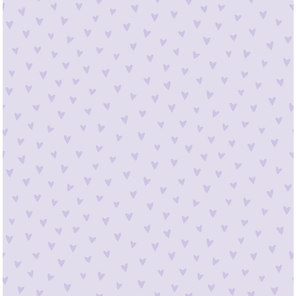 2f6c93c80 Kids Sparkle Heart Lilac Glitter Wallpaper