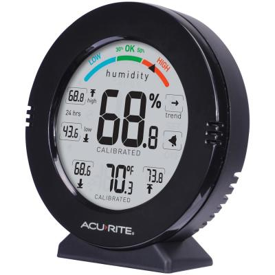 Pro Accuracy Indoor Temperature and Humidity Monitor with Alarms