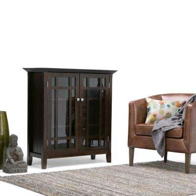 Bedford Dark Tobacco Brown Storage Cabinet