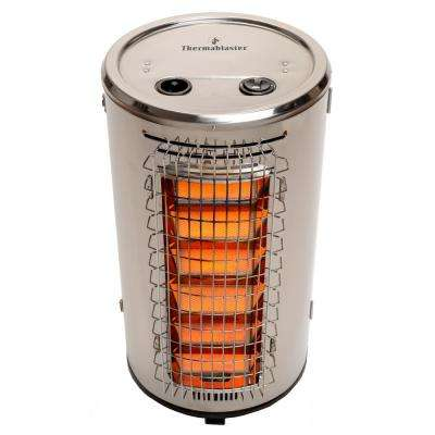 32,000 BTU Stainless Steel Gas Patio Heater