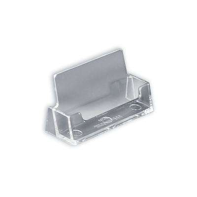 Horizontal Business Card Holder Clear (10-Pack)