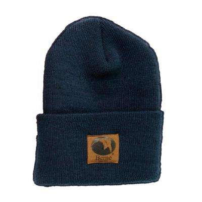 Men's Navy Standard Knit Cap
