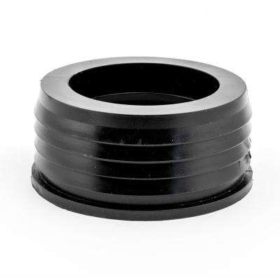 Flexible Connector 4 in. x 3 in. Flexible PVC for Cast Iron Hub to Spigot Donut