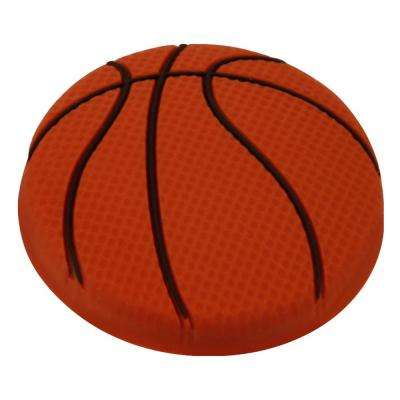 Kids Corner Basketball 1-9/16 in. Multi-Colored Metal Cabinet Knob