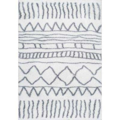 5 Round Plaid Area Rugs The Home Depot