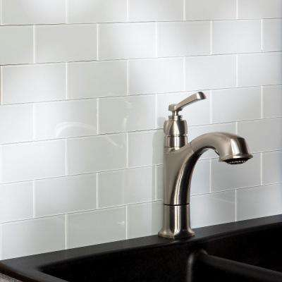 Glass Tile Backsplashes Tile The Home Depot - Glass-tile-backsplash-pictures-collection