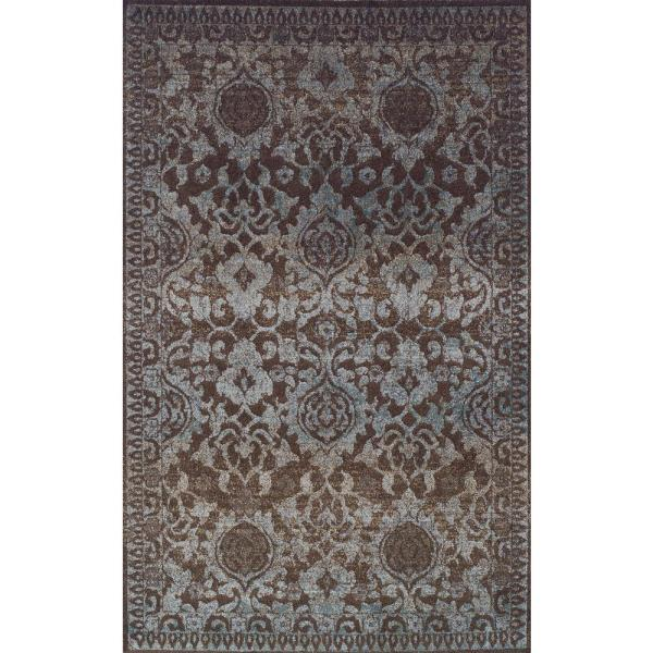 Provincial 8 Chocolate 5 ft. 3 in. x 7 ft. 7 in. Oriental Area Rug