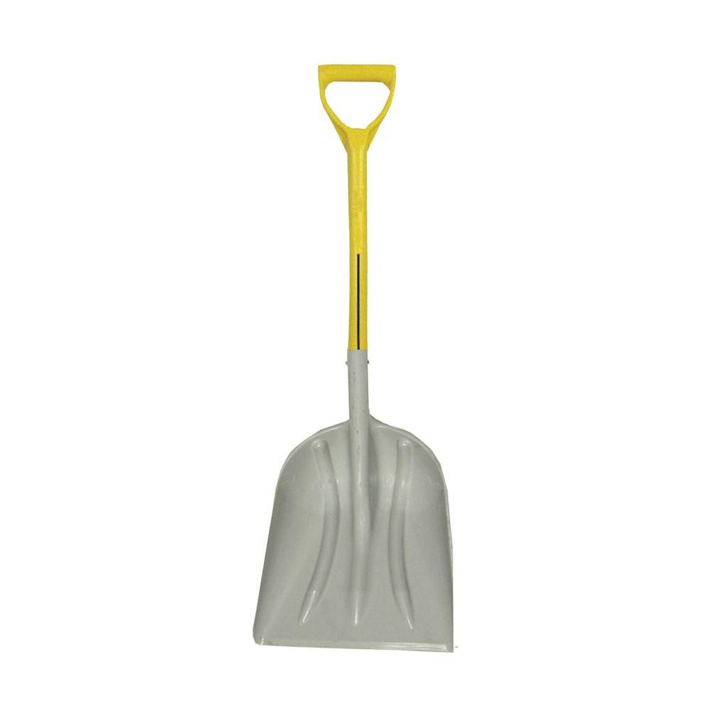 Nupla 27 in. Fiberglass Handle Polymer Blade Non-Sparking Scoop