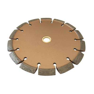 7 in. Crack Chaser Blade for Concrete and Asphalt Repair 3/8 in. W x 7/8 in. to 5/8 in. Arbor