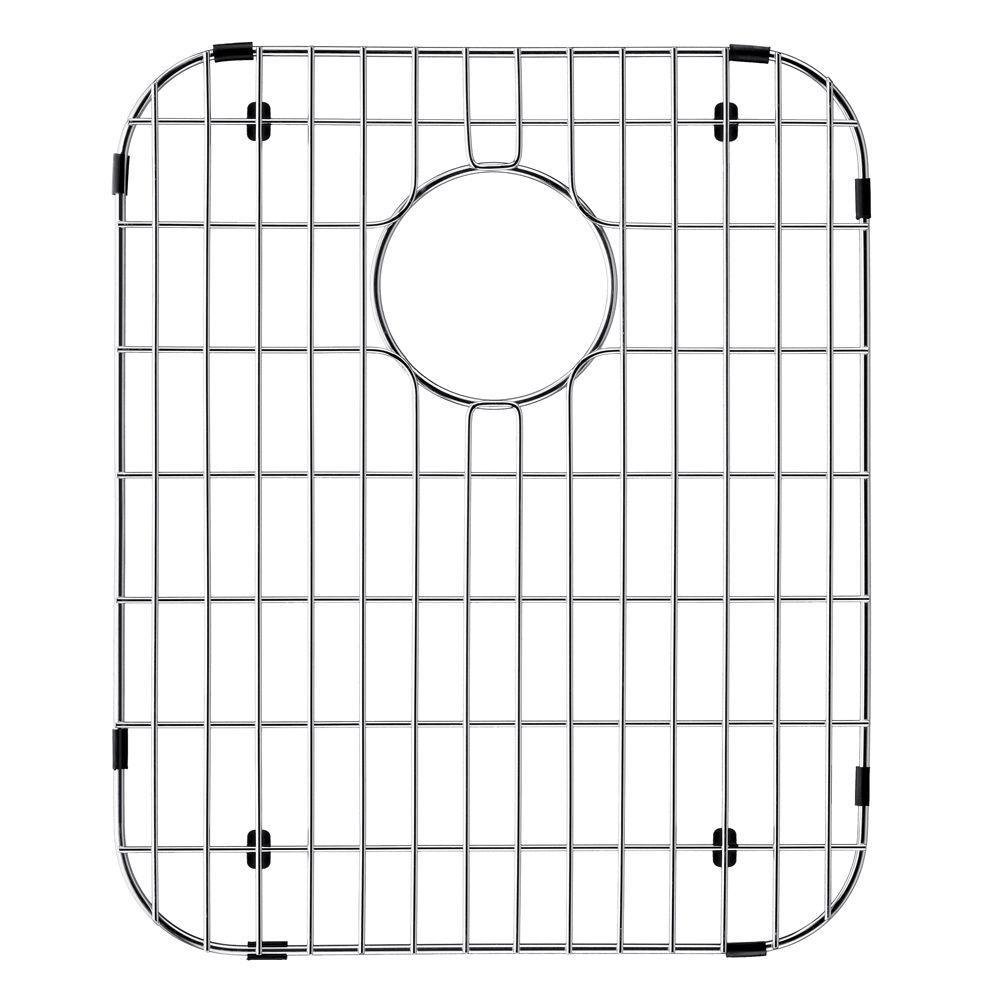 14 in. x 17.125 in. Kitchen Sink Bottom Grid in Stainless Steel