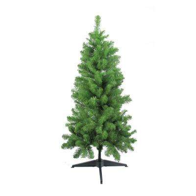 4 ft. x 25 in. Traditional Noble Fir Medium Artificial Christmas Tree