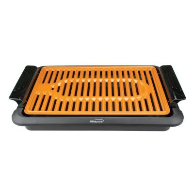 31 sq. in. Black 1,000-Watt Indoor Electric Copper Grill
