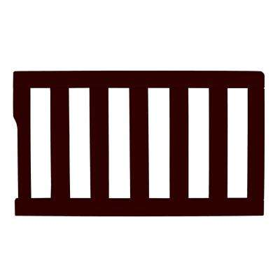 Universal Chocolate Toddler Rail