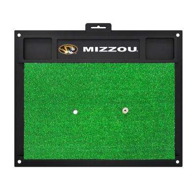 NCAA University of Missouri 17 in. x 20 in. Golf Hitting Mat