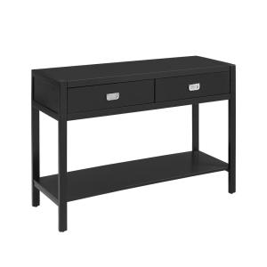 Sara Black Console Table