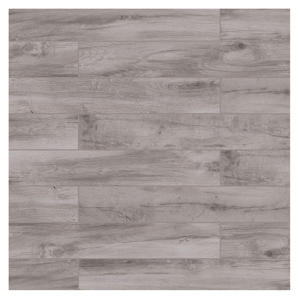 Marazzi Montagna Dovewood 6 In X 36 Glazed Porcelain Floor And Wall Tile