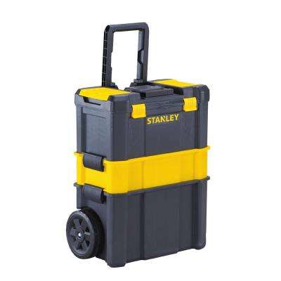 Essential 19 in. 3-in-1 Detachable Tool Box Mobile Work Center