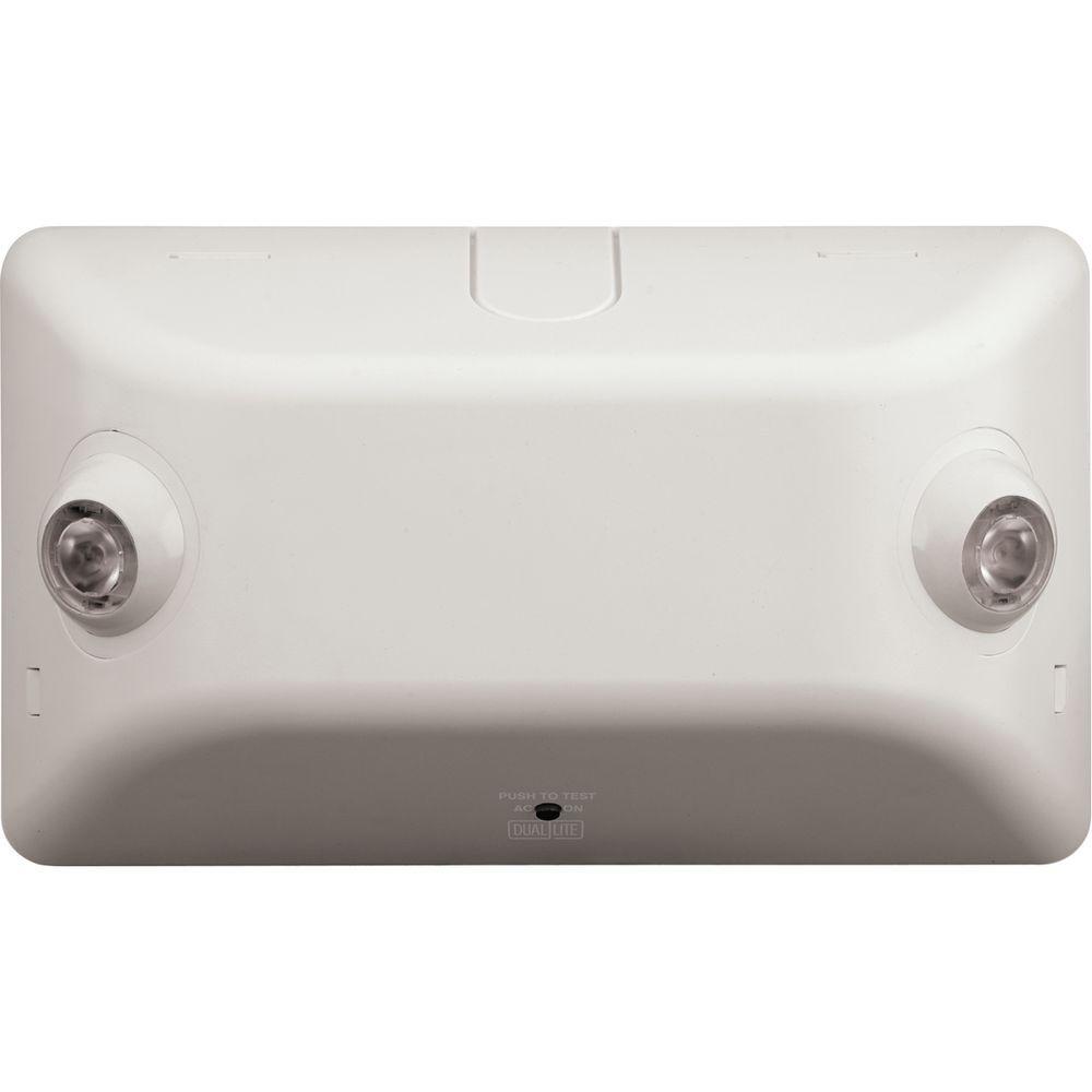 Dual Lite 2 Light Thermoplastic Led Emergency Unit Ev4d