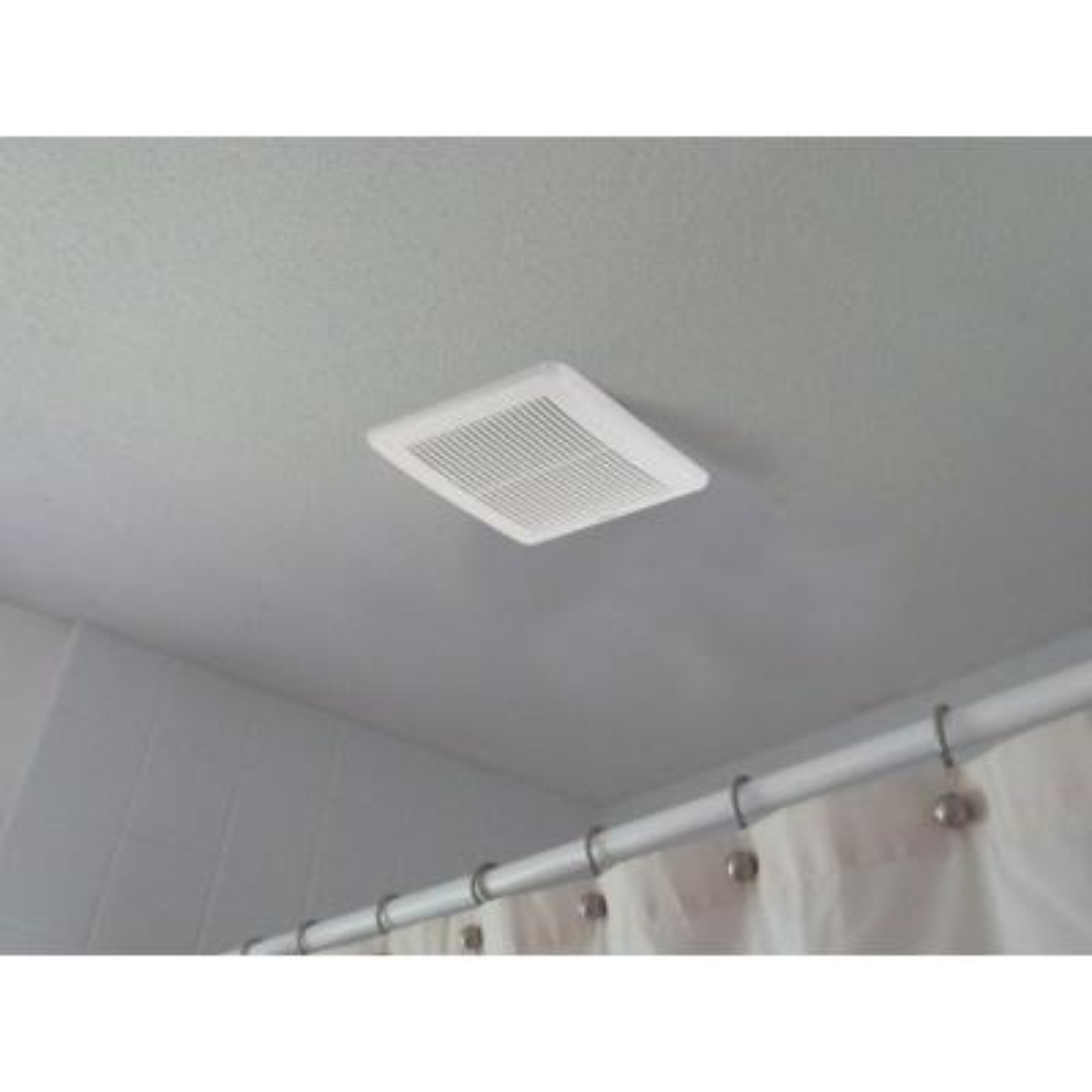 Integrity Series 80 CFM Wall or Ceiling Bathroom Exhaust Fan, ENERGY STAR