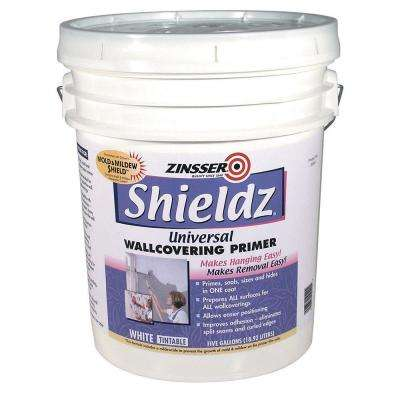 5-gal. Shieldz Universal Water Based White Primer and Sealer