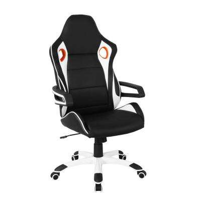 Black Racing Style Home and Office Chair