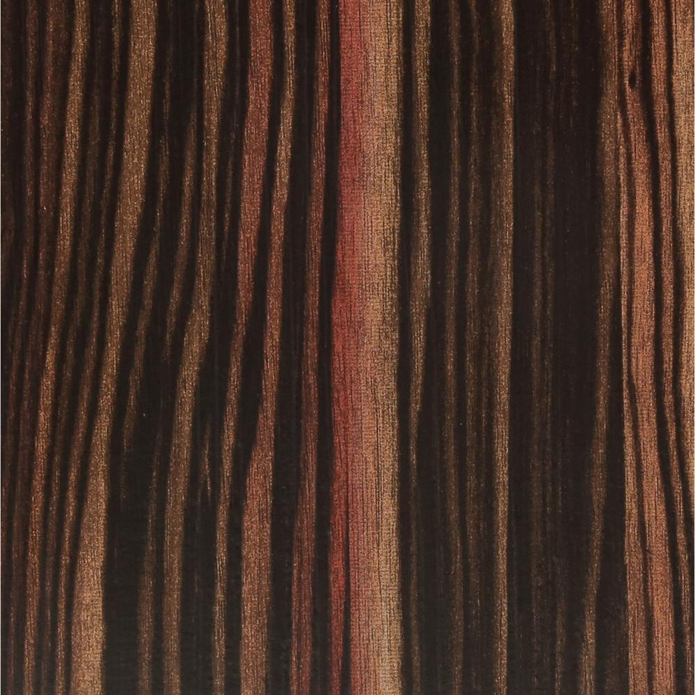 TrafficMASTER Allure 6 in. x 36 in. Rosewood Ebony Luxury Vinyl Plank Flooring (24 sq. ft. / case)