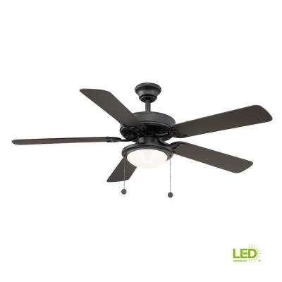 industrial flush mount ceiling fans lighting the home depot rh homedepot com