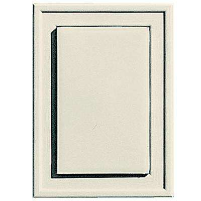 4.5 in. x 6.25 in. #082 Linen Raised Mini Universal Mounting Block