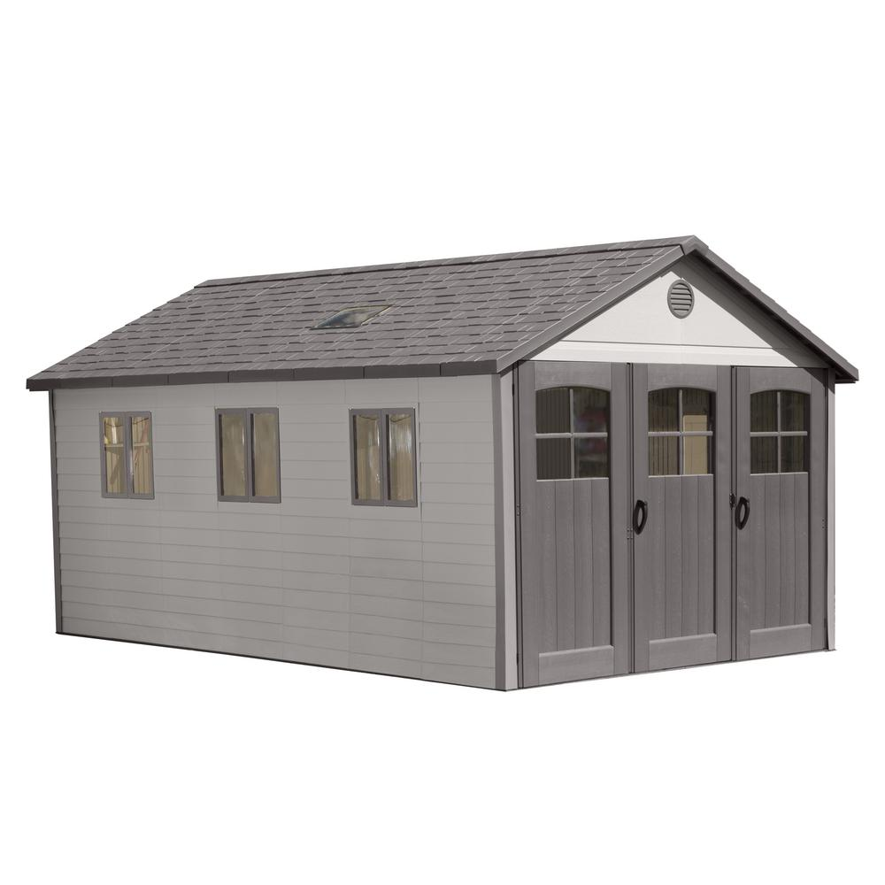 11 ft. x 21 ft. Wide Carriage Door Storage Shed