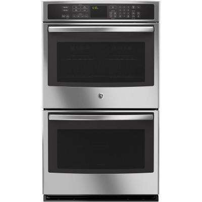 30 in. Double Electric Smart Wall Oven Self-Cleaning with Convection and Wi-Fi in Stainless Steel