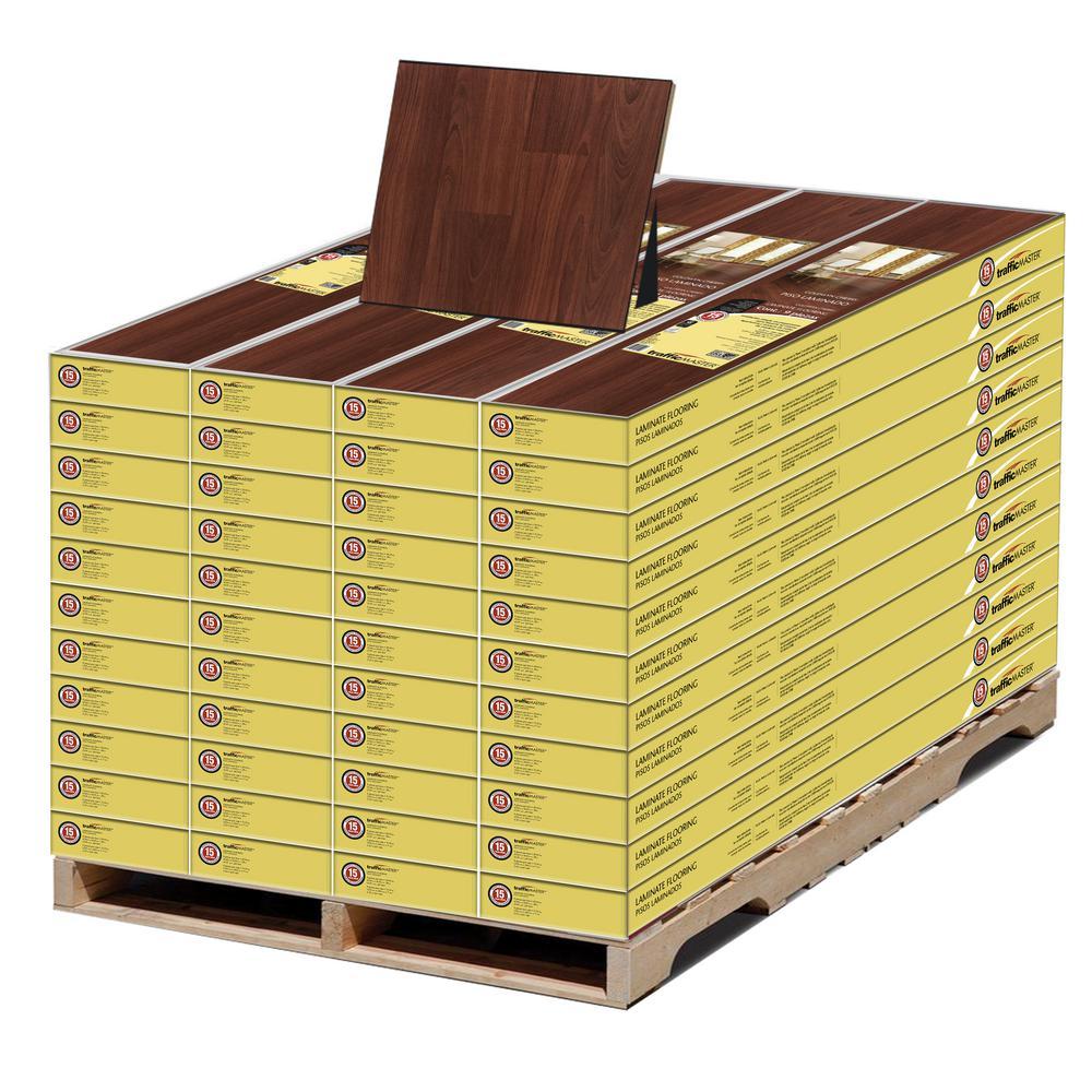 Goldwyn Cherry 7 mm T x 8.03 in. W x 47.64 in. L Laminate Flooring (1052.15 sq. ft. / pallet)