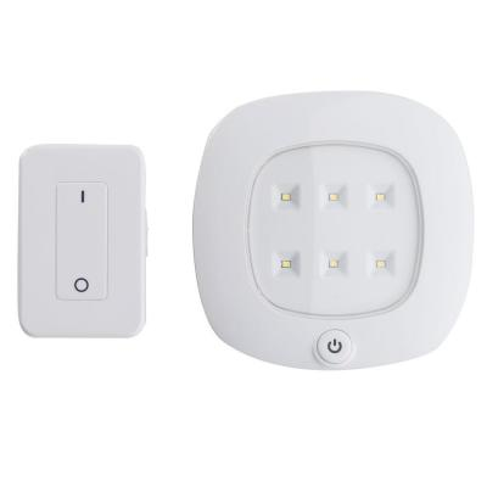 White Wireless Integrated LED Ceiling Light Set
