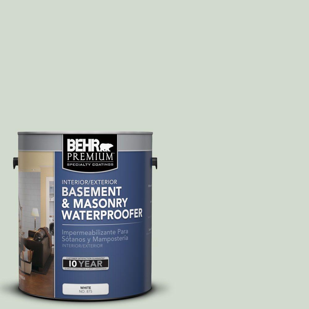 BEHR Premium 1 gal. #BW-46 Gentle Green Basement and Masonry Waterproofer