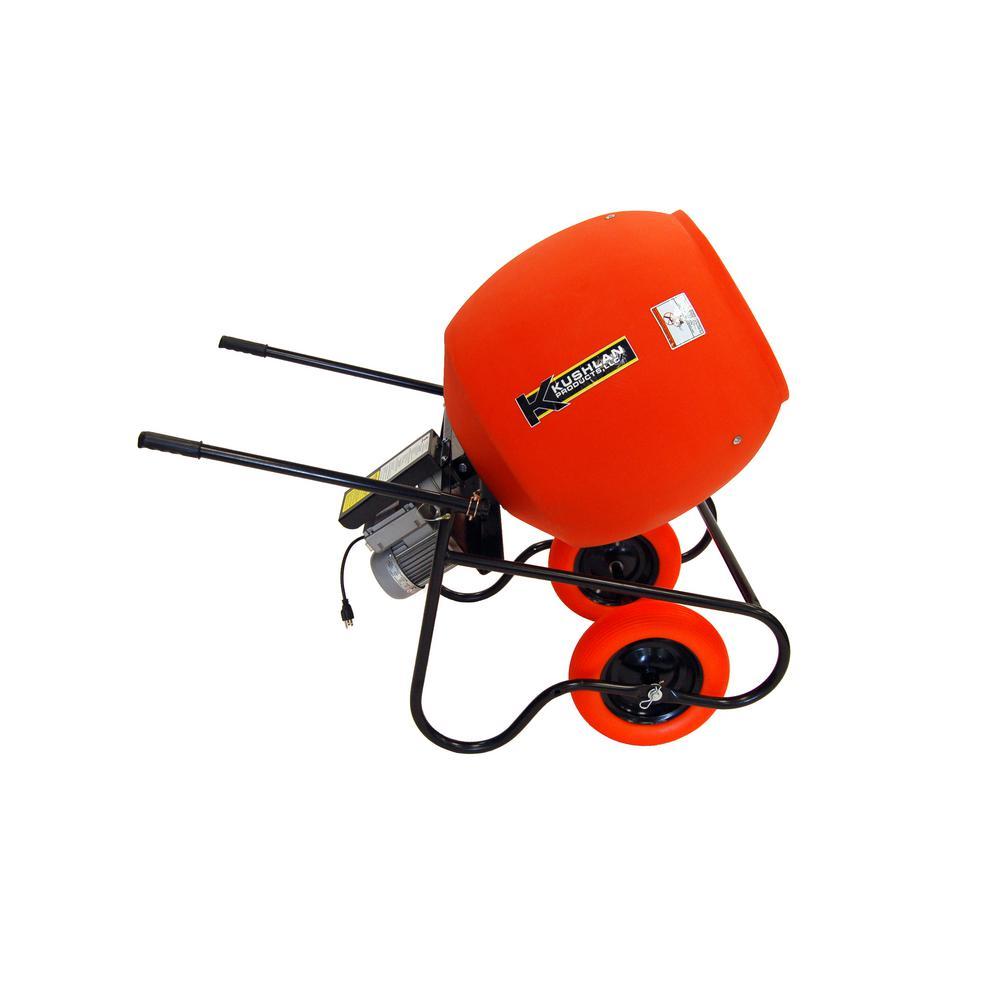 6.0 cu. ft. 3/4 HP 120-Volt Motor Direct Drive Cement Mixer