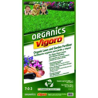 15 lb. Organic Lawn and Garden Fertilizer with Terrazome