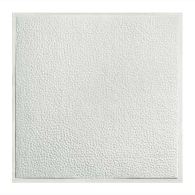 Chicago 2 ft. x 2 ft. Lay-in Tin Ceiling Tile in Matte White